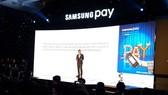 Samsung Pay付款系統推介發佈會一瞥。(示意圖源:互聯網)
