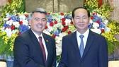 國家主席陳大光接見賈德納參議員。(圖源:顏創)