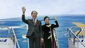 國家主席陳大光昨日從日本起程返回越南。(圖源:顏創)