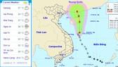 左圖:我國今天各主要城市天氣預報。右圖:熱帶低氣壓朝西北方向移動。(圖源:國家水文氣象預報中心)