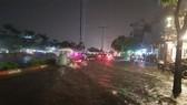 范文同街嚴重受淹,但在治水報告中卻沒提到。(圖源:勞動報)