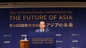 我國政府常務副總理張和平在會議上發表主要講話。(圖源:VGP)
