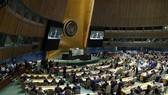 聯合國大會當地時間13日通過一項旨在為巴勒斯坦人提供保護的決議。(圖源:新華網)