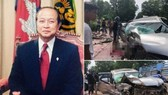 柬埔寨親王車隊慘遭車禍,王妃重傷不治。(圖源:東網)