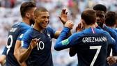 法國隊慶祝勝利。(圖源:互聯網)