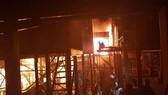 火警現場。(圖源:越駐柬大使館)