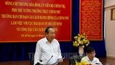 政府常務副總理張和平在會議上發表指導意見。(圖源:市黨部新聞網)
