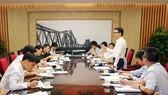 武德膽副總理主持會議並發表指導意見。(圖源:廷南)