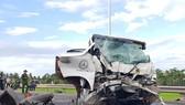 嚴重交通事故現場。(圖源:VTC)