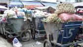 第六郡富林街市的垃圾收集場一瞥。