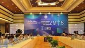 2018年越南資訊技術與能源論壇昨(31)日在河內舉辦。圖為論壇現場一瞥。(圖源:瓊娥)