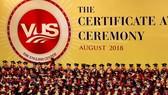 越美會英語中心舉辦的劍橋國際英語水平證書頒發儀式。