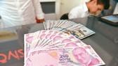 連日來土耳其貨幣里拉匯率暴跌,在國際市場引發連鎖反應。(示意圖源:互聯網)