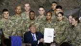 美軍軍費將增加2.6%,為9年來最大增幅。(圖源:AP)