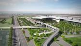 隆城機場效果圖。
