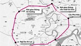本市2號環市路路線圖。
