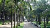 """調撥財政預算整飭""""九‧二三""""公園。圖為""""九‧二三""""公園一瞥。"""