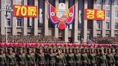 9月9日,朝鮮在平壤舉行盛大閱兵式和群眾花車遊行,熱烈慶祝建國70週年。(圖源:新華網)