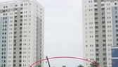 """圖片中畫紅圈的是擬建""""封閉式垃圾壓縮站""""項目的區域。(圖源:杜茶江)"""