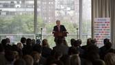 9月10日,在位於紐約的聯合國總部,聯合國秘書長古特雷斯就氣候變化問題發表講話。古特雷斯10日呼籲各國立即採取行動,阻止全球變暖,以避免氣候變化給人類造成不可逆轉的災難性後果。(圖源:新華網)