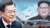 韓總統文在寅(左)將與朝國務委員會委員長金正恩進行第三次首腦會談。(圖源:韓聯社)