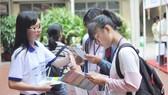 去年台灣教育展吸引廣大越華學生參加。