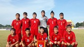 越南U16女足隊。