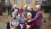 """英國將為高齡長者設首個""""抗孤獨基金""""。(示意圖源:互聯網)"""