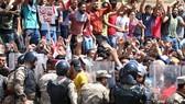美國務院在伊拉克大規模騷亂後宣佈關閉美駐巴士拉領事館。(圖源:AFP)