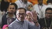 馬來西亞前副總理安瓦爾以逾71%的得票率當選,重返國會。(圖源:EPA)