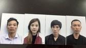 腎臟販賣團夥中被抓獲的4名嫌犯。(圖源:公安機關提供)