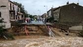 法西南部暴雨引發洪水致 13 人死亡
