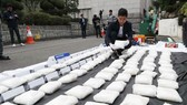 跨境販毒團夥在韓落網 涉案冰毒達 112 公斤