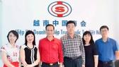越南紅十字會副主席陳國雄一行4人昨(25)日專程到越南中國商會拜訪。