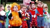 美兒童在萬聖節當天死亡率比平時高兩倍。(示意圖源:互聯網)