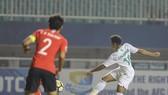 韓國隊-沙特阿拉伯隊比賽一瞥。(圖源:互聯網)