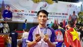 華人運動員林東旺獲得3枚獎牌。