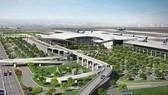 隆城機場項目需要5000公頃地皮用來興建機場,364.21公頃地皮用來興建祿安-平山及平山兩個安置區。圖為隆城機場效果圖。(圖源:越通社)