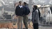 特朗普赴加州災區視察 死者增至 76 人