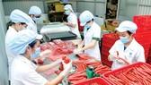 為春節市場服務的臘腸產量大。
