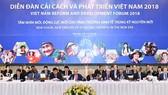 越南改革與發展論壇現場一瞥。(圖源:光孝)
