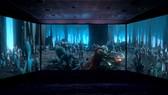 Màn hình chiếu phim 270 độ lần đầu tiên có mặt tại Việt Nam