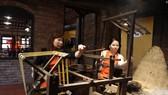 """Tìm giải pháp """"cứu"""" nghề ươm tơ, dệt lụa truyền thống Quảng Nam"""
