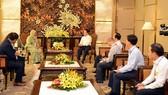Bộ trưởng Trần Hồng Hà tiếp và làm việc với Phó Tổng Thư ký Liên hợp quốc Maimunah Mohd Shari