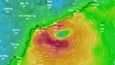Tâm bão số 9 được dự báo vào Bà Rịa -Vũng Tàu và TPHCM trong sáng hoặc trưa nay 25-11-2018