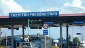 Trạm thu phí Sông Phan trên địa bàn tỉnh Bình Thuận.