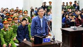 Trinh Xuan Thanh, former chairman of PetroVietnam Construction JSC , appeared on January 8 trial.