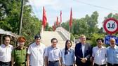 Ngày khánh thành cầu Ba Bình ở xã Vĩnh Phú Tây, huyện Phước Long