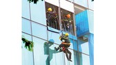 Diễn tập cứu hộ nhà cao tầng