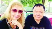 Ông bà Trương Văn Dân và Elena Pucillo Trương tại TPHCM
